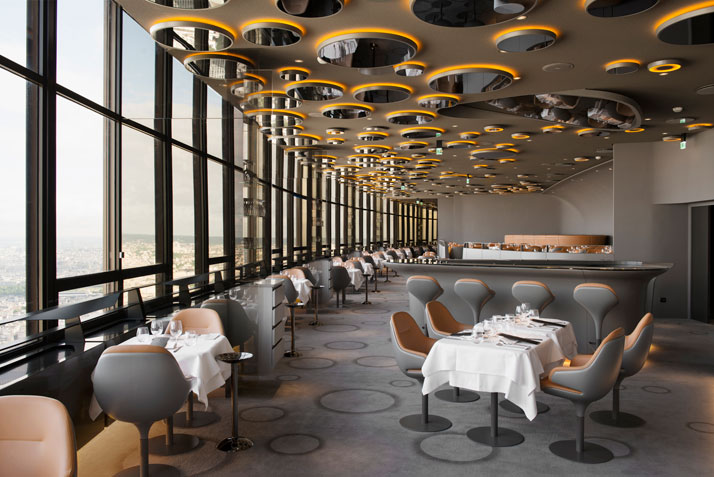 Restaurant Ciel de Paris by Noé Duchaufour Lawrance, France – TABISSO